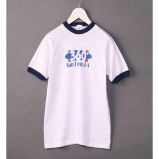 ビューティアンドユースユナイテッドアローズ(BEAUTY&YOUTH UNITED ARROWS)の【最終値下げ】ROKU プリントTシャツ(Tシャツ(半袖/袖なし))