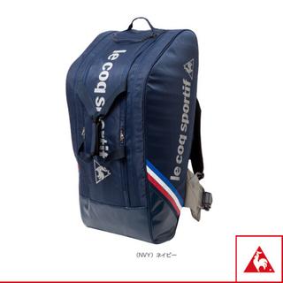 ルコックスポルティフ(le coq sportif)の新品  ルコック  テニスバッグ   ネイビー(バッグ)