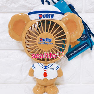 Disney - 大人気商品✨香港ディズニー❣️新作✨ハンディー扇風機 ダッフィー ♡