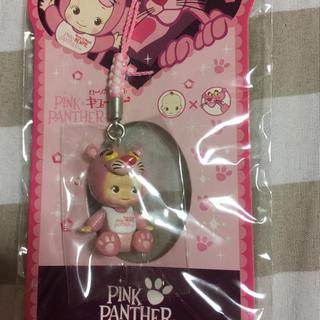 キユーピー - キューピーストラップ ピンクパンサー(ピンク)