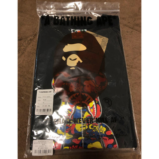 A BATHING APE - be@rtee a bathing ape camo shark tee xl