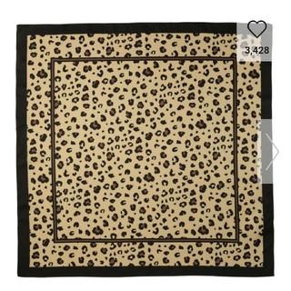 GU - 流行りのレオパード スカーフ