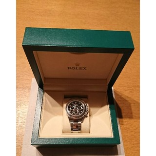 ロレックス(ROLEX)のロレックスデイトナ黒116520 未使用 総額278万円→259万円期間限定引下(腕時計(アナログ))