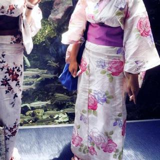 薔薇 プリンセス パープル 紫 イング リズリサ グレイル メゾンドフルール(浴衣)