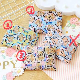 ダッフィー(ダッフィー)の日本未発売 ダッフィー  エコバッグ お買い物袋 防水 数量限定(エコバッグ)