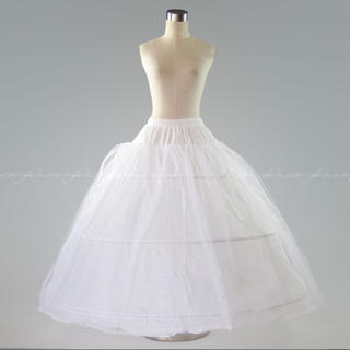3段パニエ ドレス ウエディング ブライダル