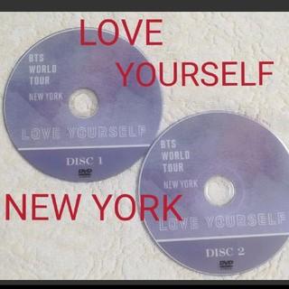 ボウダンショウネンダン(防弾少年団(BTS))のBTS🎵LOVE YOURSELF NEW YORK ❤️DVD2枚組(ミュージック)