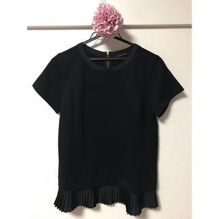 BARNYARDSTORM - *美品*バンヤードストーム  裾プリーツTシャツ