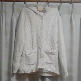 シマムラ(しまむら)のリズメロ ニットコート/ニットジャケット ピンク マイメロディ Lismelo(ニットコート)