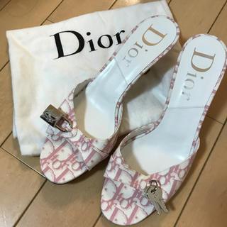 ディオール(Dior)のDior サンダル 箱なし 保存袋有り(サンダル)