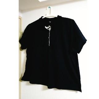 大きいサイズ☆レース付きポロシャツ(ポロシャツ)