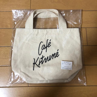 MAISON KITSUNE' - 新品!CAFE KITSUNE(カフェキツネ) スモール トート バッグ