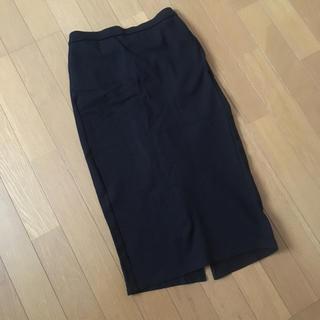 ジーユー(GU)のジーユー スウェットスカート M(ひざ丈スカート)