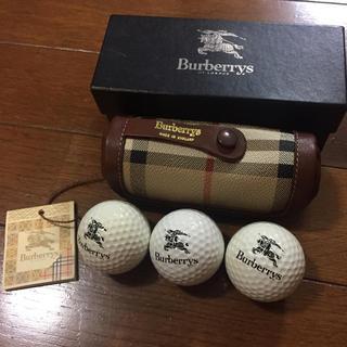BURBERRY - バーバリー☆ゴルフボールケース