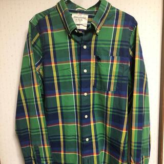 アバクロンビーアンドフィッチ(Abercrombie&Fitch)のアバクロ  チェックシャツ(シャツ/ブラウス(長袖/七分))