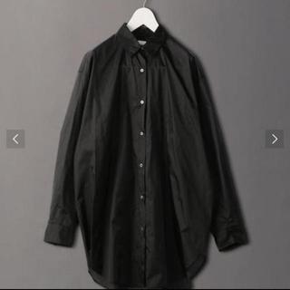 ビューティアンドユースユナイテッドアローズ(BEAUTY&YOUTH UNITED ARROWS)のroku 6 nylon suke shirt(シャツ/ブラウス(長袖/七分))