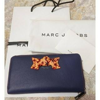 マークジェイコブス(MARC JACOBS)のマークジェイコブス 星柄 リボン 長財布(財布)