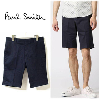 Paul Smith - 《ポールスミス》新品 コットンストレッチ ショートパンツ XXL(W91)