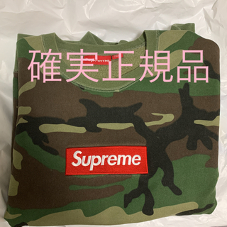 Supreme - 正規品!特価!!supreme  box logo crew neck