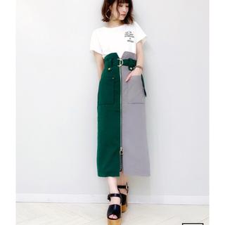 REDYAZEL - 【READYAZEL】センタージップタイトスカート