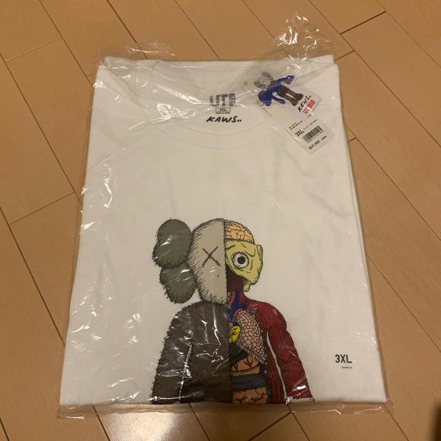 UNIQLO(ユニクロ)のkaws×uniqlo 3XL メンズのトップス(Tシャツ/カットソー(半袖/袖なし))の商品写真