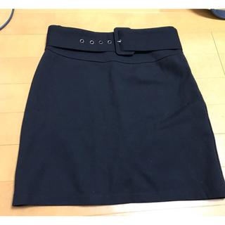 LIP SERVICE - LIP SERVICE ベルト付き ストレッチタイトスカート