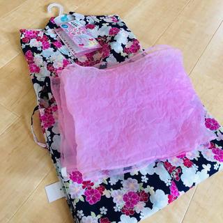 西松屋 - 新品・未使用 子ども用浴衣セット120 +おまけつき