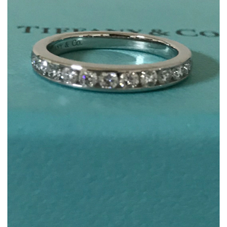 Tiffany & Co. - ティファニー ハーフサークル ダイヤモンド 11P プラチナ