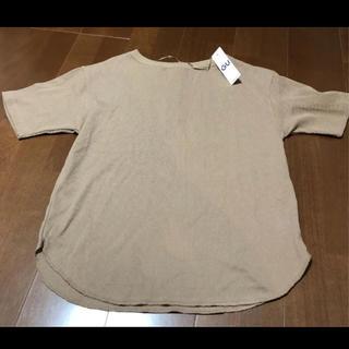 GU - GU バックヘンリー Tシャツ レディース M
