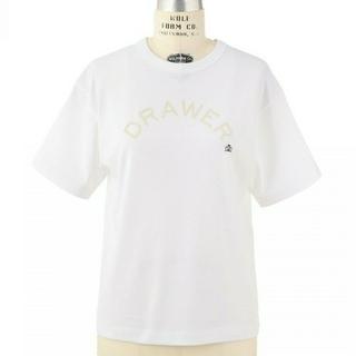Drawer - 【新品未使用】2018SS Drawer 人気ロゴTシャツ ドゥロワー