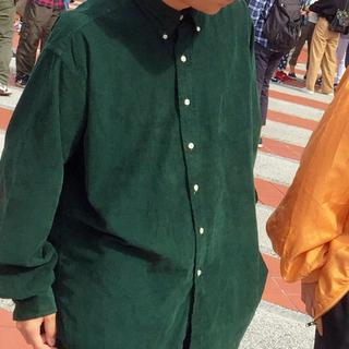 Ralph Lauren - Ralph Lauren コーデュロイ ベロア シャツ 緑