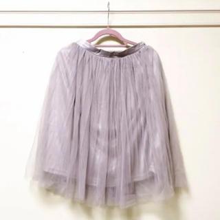 ダズリン(dazzlin)のdazzlin チュールスカート(ひざ丈スカート)