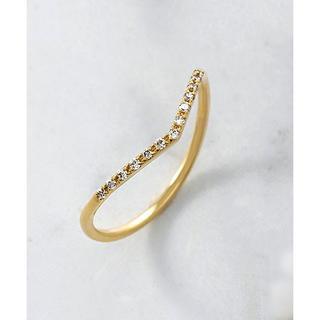 アガット(agete)のagete K18 ダイヤモンド リング 14号 ¥45,360(リング(指輪))