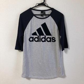 アディダス(adidas)のアディダス adidas ラグラン 七分丈 Tシャツ(Tシャツ(長袖/七分))