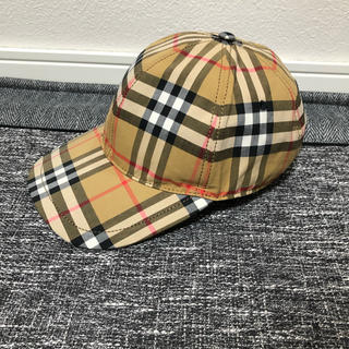 BURBERRY - Burberry cap バーバリー キャップ チェック タータン ベージュ