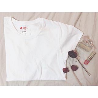 apart by lowrys - apart by lowrys *Hanes / 白Tシャツ