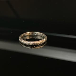 リーフシルバーリング(ハワイアンジュエリー風)(リング(指輪))