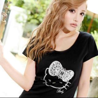 レディー(Rady)のRady キティちゃん ビジューTシャツ(Tシャツ(半袖/袖なし))