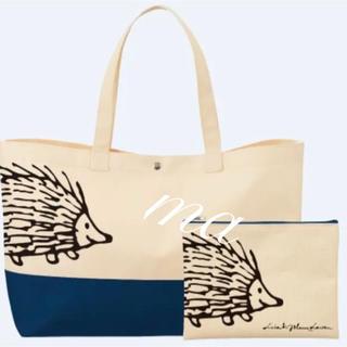 リサラーソン(Lisa Larson)のリサ・ラーソン BOSS オリジナルバッグ&ポーチ ハリネズミ 新品(トートバッグ)