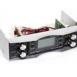 エイスース(ASUS)の新品🎁Thermaltake ファンコントローラー LCD アルミ 黒色x銀色(PCパーツ)