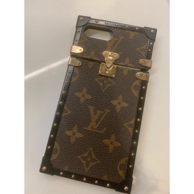 LOUIS VUITTON - louis vuitton iphone 7 plus トランクの通販