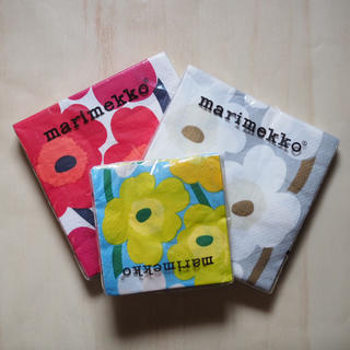 マリメッコ(marimekko)のマリメッコ ナプキン 新品未使用(収納/キッチン雑貨)