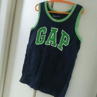 ギャップキッズ(GAP Kids)のGAPロゴタンクトップ120(Tシャツ/カットソー)