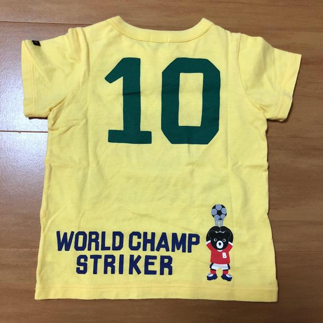DOUBLE.B(ダブルビー)のミキハウス ダブルビー Tシャツ 半袖 90 キッズ/ベビー/マタニティのキッズ服 男の子用(90cm~)(Tシャツ/カットソー)の商品写真