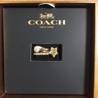 COACH - coach☆コーチ 3連リング