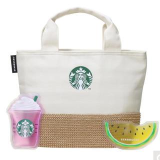 Starbucks Coffee - 新品未開封 スタバ  保冷トートアンドオリジナル保冷剤