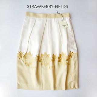 STRAWBERRY-FIELDS - 未使用 タグ付き ストロベリーフィールズ 夏 スカート 新品
