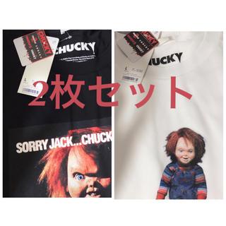 GU - GU チャッキー Tシャツ