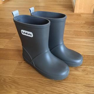 futafuta - フタフタ  長靴  グレー