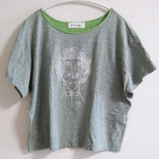 ミナペルホネン(mina perhonen)のミナペルホネン madame linona  Tシャツ カットソー(Tシャツ(半袖/袖なし))